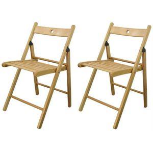 chaise pliante noire achat vente chaise pliante noire pas cher cdiscount. Black Bedroom Furniture Sets. Home Design Ideas