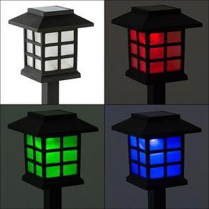 LAMPE DE JARDIN  BLOOMWIN Lampe de Jardin Solaire à Piquet Changeme