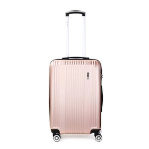 VALISE - BAGAGE Valise rigide extensible 4 roues 66 cm ROSE GOLD 0