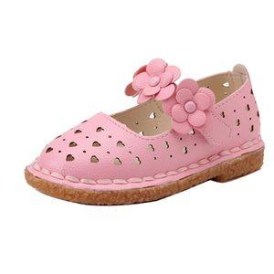 chaussures pour enfants Ballerine fille flâneurs chausson blanc 8mo1Jmoyf