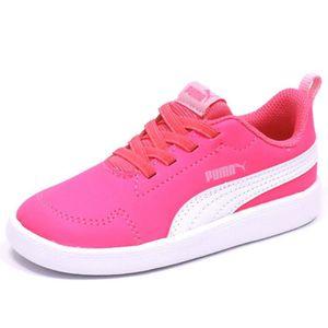 BASKET Chaussures Courtflex Inf Rose Bébé Fille Puma
