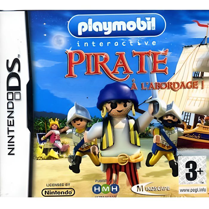 playmobil pirate a l 39 abordage jeu ds achat vente jeu ds dsi playmobil pirate a l. Black Bedroom Furniture Sets. Home Design Ideas