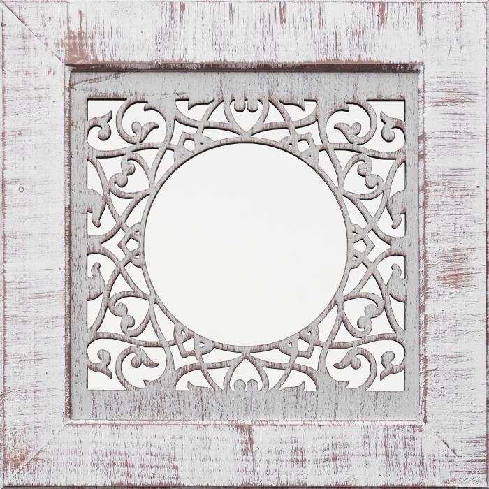 Miroirs aucune en promo ou en soldes 92 discount total for Petit miroir blanc