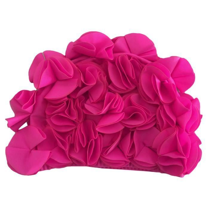 Bonnet Bain Fleurs Achat Vente Pas Cher
