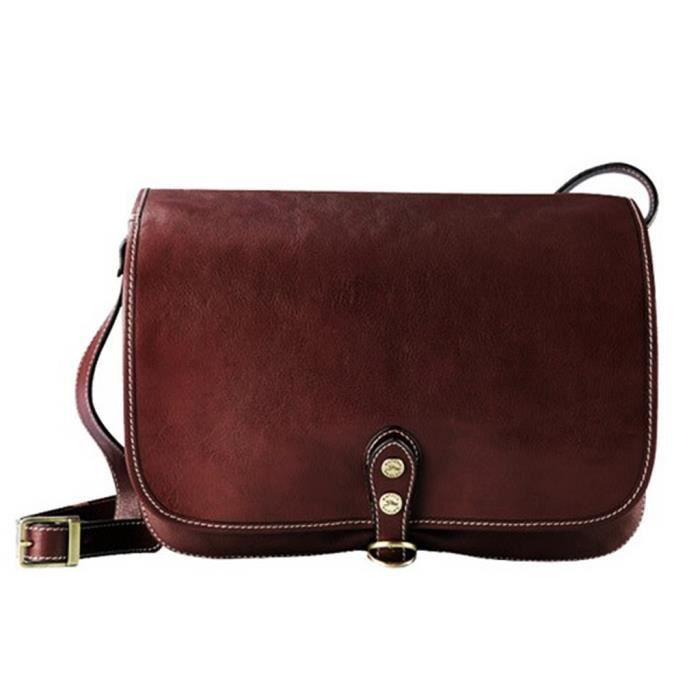 624c7f4db6 Sac besace cuir femme - Achat / Vente pas cher