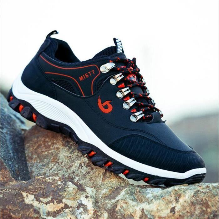 chaussures de randonnée Hommes Antidérapant brand Basket de sport Mode Securite Randonnee chaussure pour homme dssx286bleu43 QuFkrfBsYp