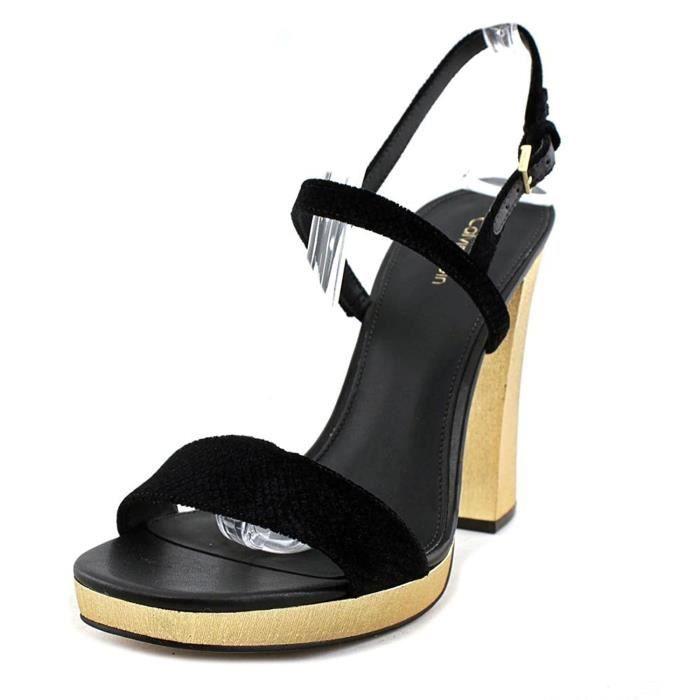 chaussures d'automne achat le plus récent pas cher Femmes Calvin Klein Bambii Sandales À Talon