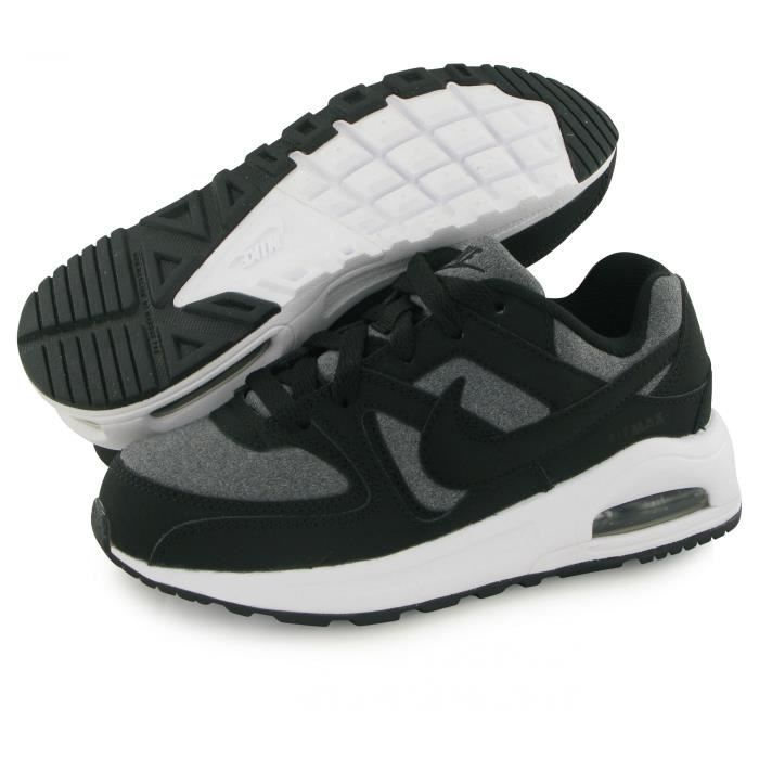 Nike Air Max Command Flex noir, baskets mode mixte
