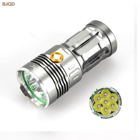 T6 RayChargeur Torche Pack Lumens Sky 12000 Type 7 Lampe Leds Led k8On0Pw