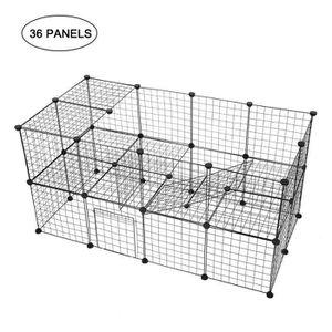 CAGE Cage Pour Animaux Portable Lapin De Cochon De Guin