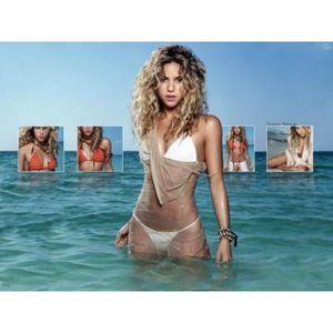 AFFICHE - POSTER Poster photo couleur Shakira en maillot de bain (D