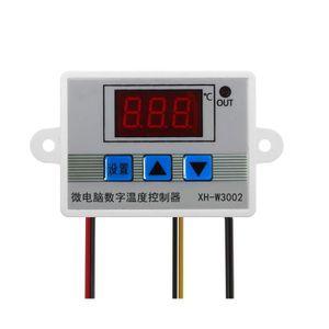 THERMOSTAT D'AMBIANCE XH-W3002 220V Digital Thermostat Contrôleur de tem
