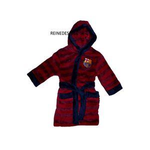 350e3adf9b979 Robe de chambre peignoir enfants FC Barcelone sur pyjama doux 3 - 4 ...