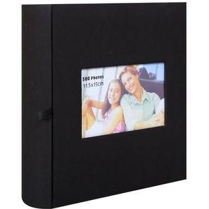 ALBUM - ALBUM PHOTO Album Photo à pochettes Square Noir 300 photos 11.