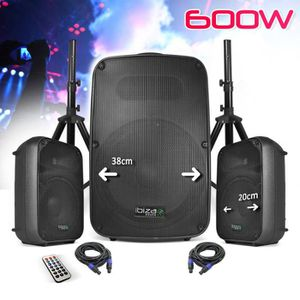 PACK SONO PACK SONO 600W Mariages Animations Mobile Amplifié