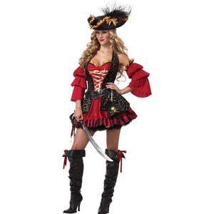 f3f9b92a04614 DÉGUISEMENT - PANOPLIE Déguisement Pirate pour femme - Premium