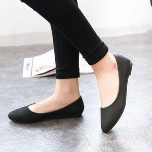 BALLERINE Chaussures Femme Antidérapant Décontracté PLAT