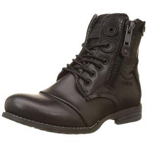 BOTTINE bottines / low boots sara zip femme bunker zip-201