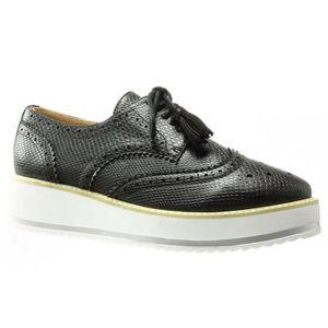 DERBY Women's Fashion Shoes Derby Shoe - Low - Snakeskin