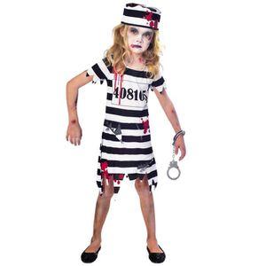 ce63f628a737ce DÉGUISEMENT - PANOPLIE Déguisement Amscan Enfant Fille Prisonnière Zombie