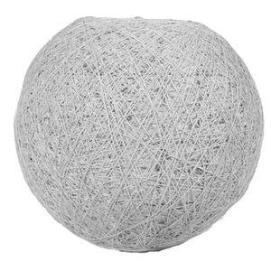 LUSTRE ET SUSPENSION SEMA Lustre - Suspension Boule Grise - D30cm
