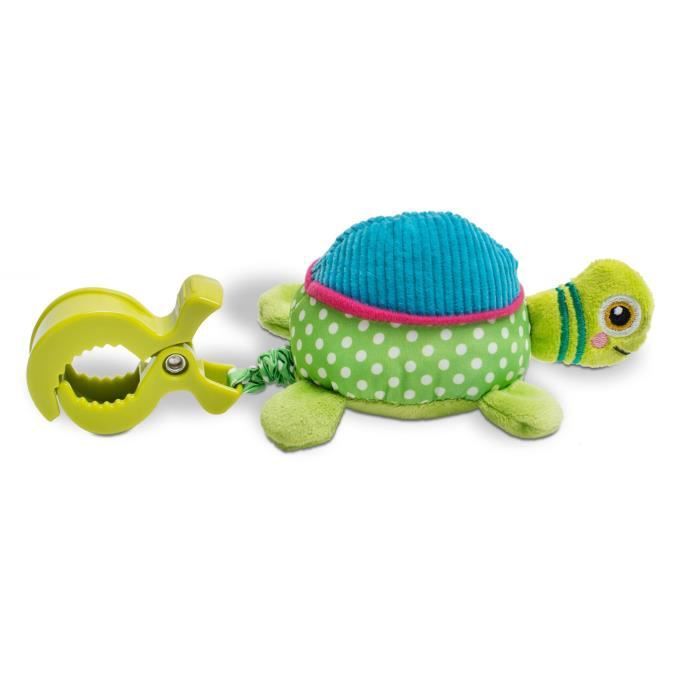 OOPS Peluche vibrante Easy-Move à pince - Tortue