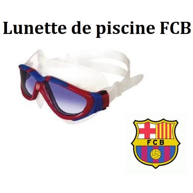 Lunette De Piscine Masque Fc Barcelone Enfants Adultes Fans De Foot