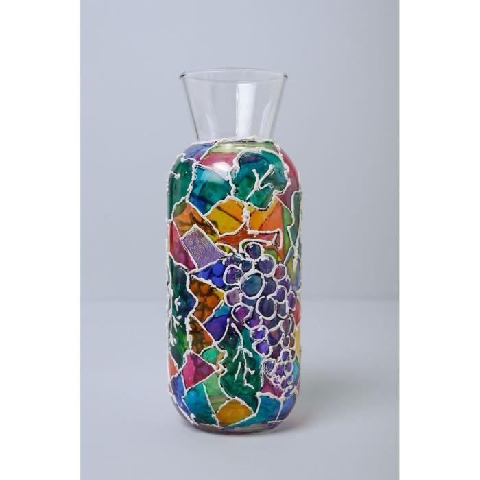 Mosaique Verre Decoratif Pour Vase
