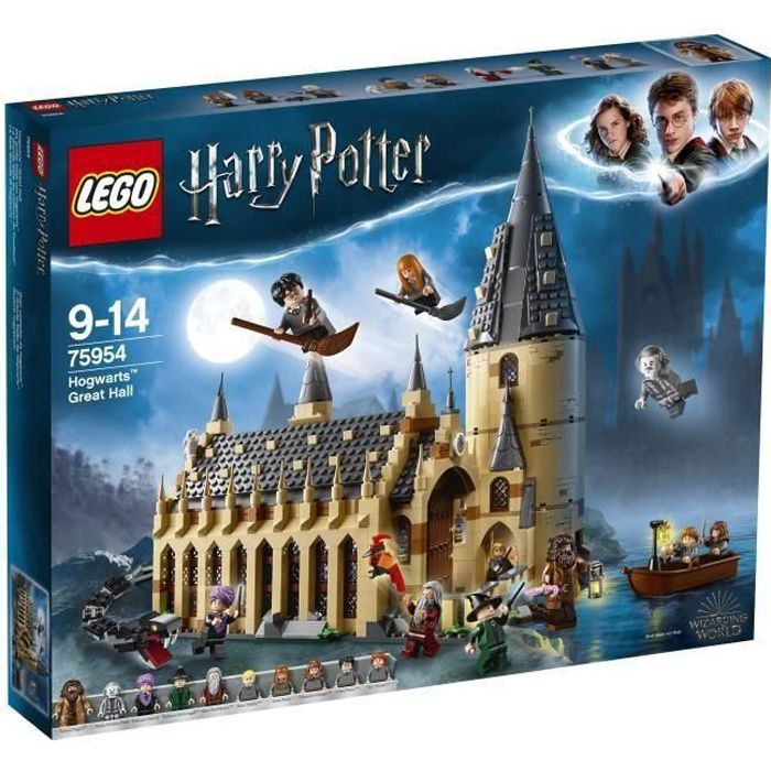 ASSEMBLAGE CONSTRUCTION LEGO® Harry Potter™ 75954 La Grande Salle du châte