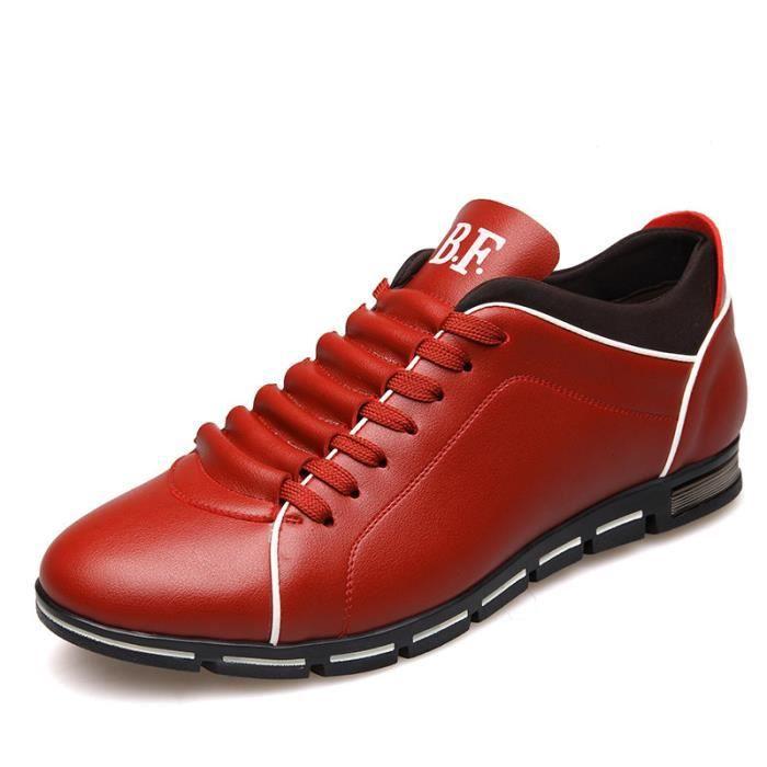 Noir Blanc Chaussures Homme Mocassins Rouge Bleu Bateau wfSZ4pSg