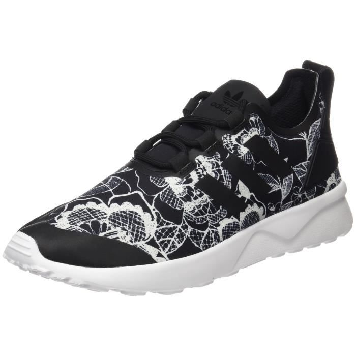 W 36 3uuahf 1 Low Taille Zx Verve Flux Noir top Baskets Femmes Adv 2 Adidas wFxXUF