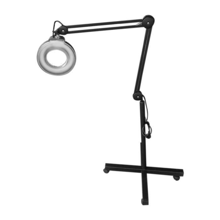 Lampe Loupe Sur Pied Esthetique Lampe Cosmetiques Lumiere Froide 5x