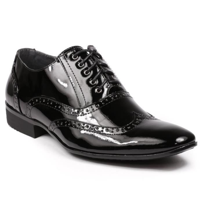 MC110 Wingtip Lace Up Tuxedo Oxford Shoes Robe RKAJD Taille-42