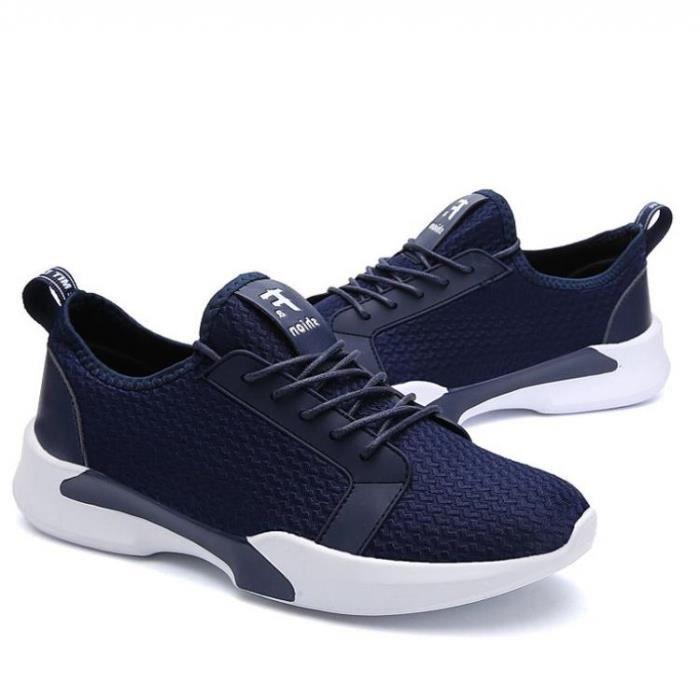 De Choc Et Chaussure Respirante Respirabilité Sport Bleu De Absorbeur Dexterity 727 Maintien Maille Homme 39 R77987532 tqq08