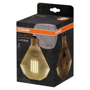 AMPOULE - LED OSRAM Ampoule LED E27 diamond Vintage Edition 1906