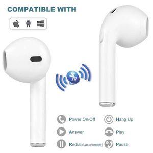 CASQUE - ÉCOUTEURS Casques Bluetooth sans Fil Mini-écouteurs  Bluetoo