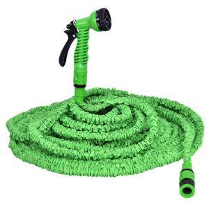 TUYAU - BUSE - TÊTE 45m Tuyau d'eau de tuyau d'arrosage flexible exten