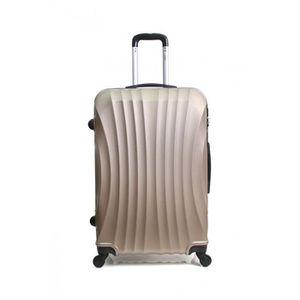VALISE - BAGAGE Valise Weekend-ABS – Rigide -60 cm MOSCOU-CHAMPAGN