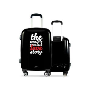 e3a36b9271d VALISE - BAGAGE Valise CALIBAG (format cabine) greatest love story ...