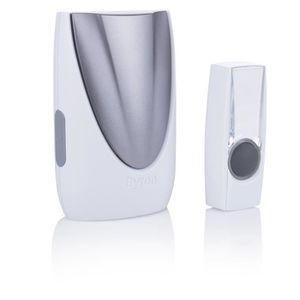 SONNETTE - CARILLON BYRON Carillon portable avec bouton sans fil porté