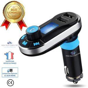 TRANSMETTEUR FM HT & BE® Kit de Voiture Bluetooth Lecteur MP3 Tran