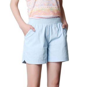 6d846d12c0b0bf Short coton femme - Achat / Vente pas cher - Cdiscount