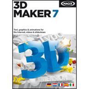 DÉVELOPPEMENT À TÉLÉCHARGER MAGIX 3D Maker 7 - 1 poste