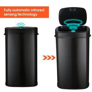 POUBELLE - CORBEILLE 68L poubelle automatique avec capteur poubelle de