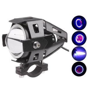 AMPOULE TABLEAU BORD 125W Conduit de Moto LED Phare Projecteur Feu Anti