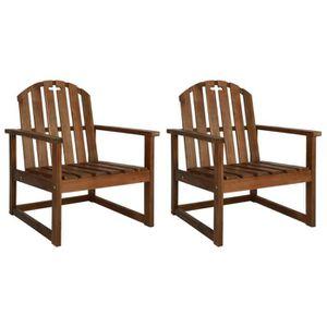 Chaise bois exterieur - Achat / Vente pas cher