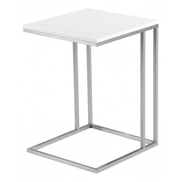Table d 39 appoint laqu e enora blanc achat vente table d 39 appoint table d 39 appoint laqu e enor - Table d appoint malm ...