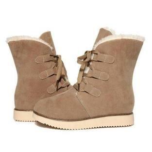 f4fb8e8d673288 2,015 hiver nouvelles chaussures femme coton rembourré neige givré  brodequins Martin bottes, beige 36
