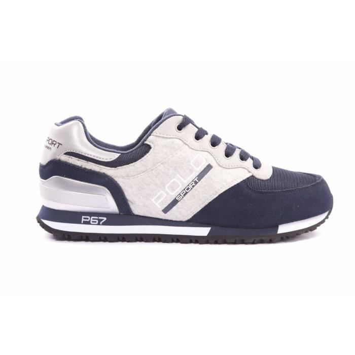 Sneaker Homme Pas cher en Soldes, Blanc, Cuir, 2017, 41 43 44Pony