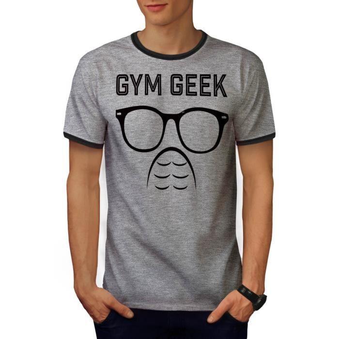 6a19d057fb9e8 Geek Gym Aptitude sport Aptitude Men S-2XL T-shirt le dos